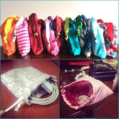 Diferentes usos para las bolsitas pompa! Lindas y prácticas!   #fabrics #pompaBodyStore #madeWithLove #package