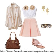 """""""summer style"""" by victoria-scully on Polyvore https://www.chloeandisabel.com/boutique/victoriascully #summer #chloeandisabel"""
