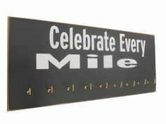 gifts for runners: Medals display rack! $44.99