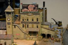 Another view of my Captain Nemo's Seafood Emoprium. Photo & model by Greg Shinnie