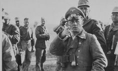 """Erwin Rommel, A.K.A. The Desert Fox, German Field Marshal. Forced suicide by cyanide pill: """"But courage which goes against military expediency is stupidity, or, if it is insisted upon by a commander, irresponsibility."""""""