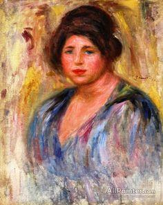 Pierre Auguste Renoir Portrait Of A Woman (gabrielle Renard) oil painting reproductions for sale