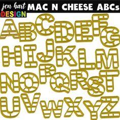 Mac n Cheese ABCs Freebie