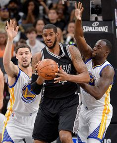 Oct. 25 - Spurs at Warriors, 9:30 p.m.NBA opening night. The Spurs entering a new age. The Warriors poised to ravage the NBA. Kawhi Leonard. Kevin Durant. Stephen Curry. Tony Parker. LaMarcus Aldridge. Draymond Green. Pau Gasol. Klay Thompson. If this doesn't excite you, you're dead inside. Photo: Darren Abate, FRE / AP / FR115 AP