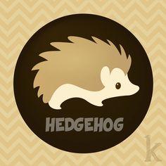 H is for Hedgehog  Karianne Hutchinson illustration vector illustrator  H is for hedgehog hedge hog animal alphabet