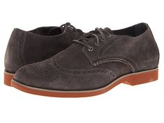 Sperry Top-Sider Boat Oxford Dark Brown Suede - 6pm.com