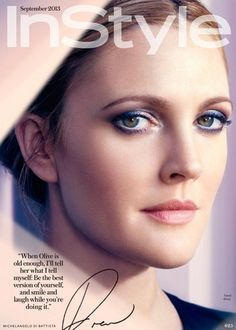 Live this eye makeup Drew Barrymore instyle Beauty Makeup, Eye Makeup, Hair Makeup, Hair Beauty, Real Beauty, Drew Barrymore Makeup, Barrymore Family, The Wedding Singer, Instyle Magazine