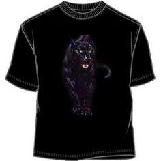 Stalking black panther tees