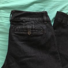Limited boot cut The Limited 678 jeans. More dressy than classic jeans. Size 8 short. Dark wash The Limited Jeans Boot Cut