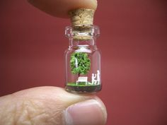Will you marry me in a tiny bottle by tinyworldinabottle on Etsy