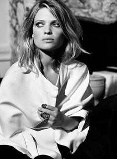 Melanie Thierry (french actress and model) - David Burton, Paris, 2014