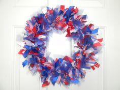 Cute 4th of July wreath!