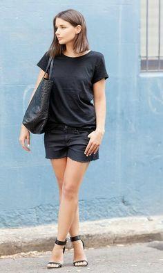 Look: All Black de Verão