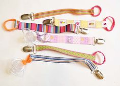 DIY: Pacifier Clips