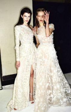 attractive  wedding dresses designer ellie saab monique lhuillier 2016