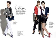 Editorial de moda da revista Central Fashion, revista do Central Plaza Shopping