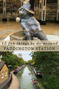 15 fun things to do near Paddington Station Paddington Station London Ways To Travel, Places To Travel, Places To See, Travel Destinations, Sightseeing London, London Travel, London England Travel, Travel Uk, Things To Do In London