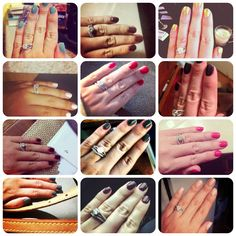 Shellac Nail Manicures via Exclusively Chic