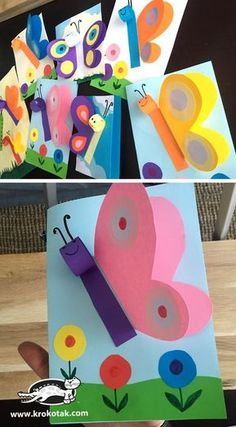 Kindergarten Art Preschool Art Summer Crafts Spring Crafts For Kids Art For Kids Spring Art Summer Art Grade Art Art Activities Spring Crafts For Kids, Paper Crafts For Kids, Paper Crafting, Fun Crafts, Art For Kids, Diy And Crafts, Craft Kids, Kid Art, Craft With Paper
