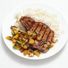 Pork Chops With Pineapple Salsa By Food Network Kitchen
