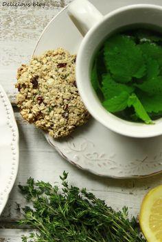 Delicious blog: Citrónovo-tymiánové sušenky s kakaovými boby