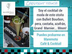 "Nuestro Cocktail Chestnut touch para #WorldClass15 está ""que se sale"" hazle caso y ven a probarlo. @Chusbartender @BulleitUSA"