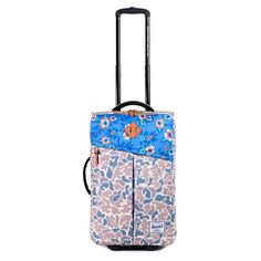 Campaign Luggage Floral weekender rolling suitcase