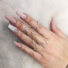 "Receive great tips on ""acrylic nail art designs ring finger"". They are actually accessible for you on our internet site. Gorgeous Nails, Love Nails, How To Do Nails, Pretty Nails, Fun Nails, Nail Art Designs, Newest Nail Designs, Coffin Nail Designs, Nagel Hacks"