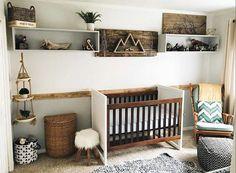 10 Ways To Create A Rustic Nursery