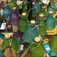 Good looking and environmentally compatible, Planet-Friendly Wasp Trap Insect Control makes your patio and yard more appealing without violence on your part Wasp Traps, Visual Merchandising, Planets, Insects, Glass Vase, Retail, Make It Yourself, Antiques, Vintage