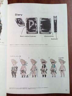 Ringabel & D's Journal from official artbook