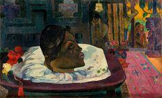 """""""Arii Matamoe (The Royal End),""""  by Paul Gauguin (1892)"""