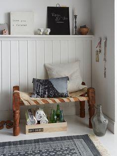 Espacios pequeños: móntate un recibidor mini con gracia