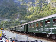 Flam Railway, Norway - one of steepest rail lines in the world - I want to ride this train from Oslo to Bergen!