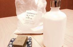 U tohoto receptu je opravdu nutné přesně dodržet postup a dávkování, jinak se nám nepovede gelová konzistence a mýdlo se bude v srážet. Esential Oils, Handmade Cosmetics, Soap Dispenser, Home Crafts, Cleaning, Homemade, Bottle, Beauty, Soap Dispenser Pump