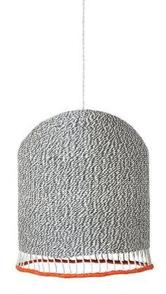 Lampenkap Braided lichtgrijs van ferm LIVING  shop je hier online bij DEENS.NL. De lampenkamp is gemaakt van handgevlochten papier wat hem tot een duurzaam o...
