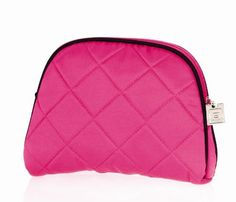 Danielle Enterprises Quilted Couture Collection Oval Purse, 8 Inches  X 6 Inches by Danielle Enterprises. $17.99. Features elegant new danielle zipper pulls. Oval purse. Soft & plush fabric.. Quilted beauty bags in fashion's hottest colors. This quilted beauty bag collection boasts fashion's hottest colors.  pink oval purse with black accent is great for those beauty gems.