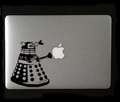 Dalek Laptop, Macbook or Ipad Decal
