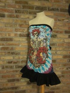 Made to Order  Custom Grateful Dead 30 year by illusionclothing, $70.00 no way custy grateful dead dress????