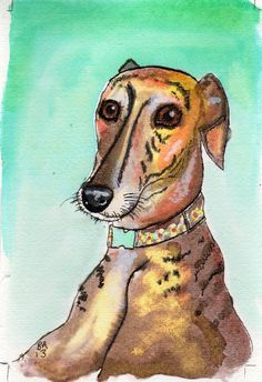 Craftsy Project: Nettle the Greyhound by Becky Draws
