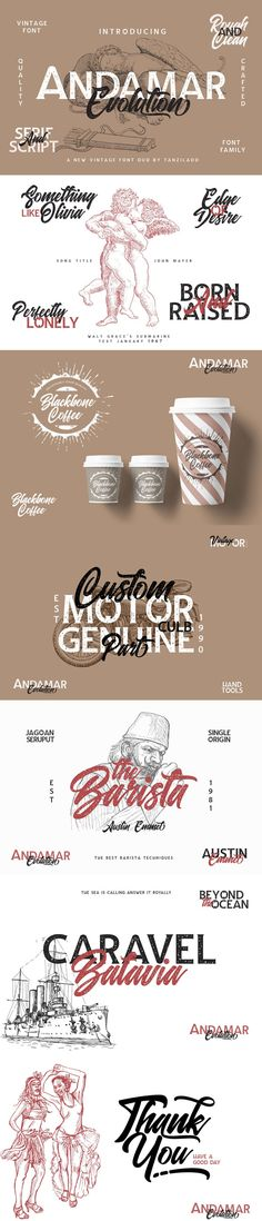 Browse over display fonts including serif, sans serif, and script fonts in vintage, retro, and modern styles to improve legibility in large formats. Adobe Software, Vintage Fonts, Script Logo, Graphic Design Templates, Social Media Template, Font Family, New Fonts, Glyphs, Typo
