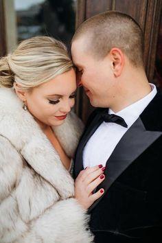 Winter Wedding Fur, Winter Wedding Bridesmaids, Winter Bride, Winter Wonderland Wedding, Brides And Bridesmaids, Vintage Fur, Vintage Bridal, Vintage Glamour, Winter Wedding Inspiration
