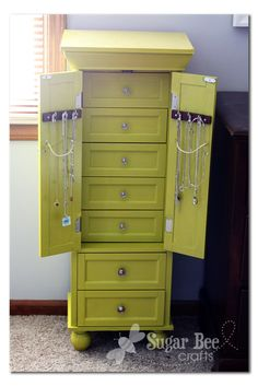 Jewelry armoire really like this one crafts diy projects jewelry armoire jewelry cabinetdiy solutioingenieria Gallery