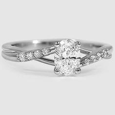 18K White Gold Chamise Diamond Ring