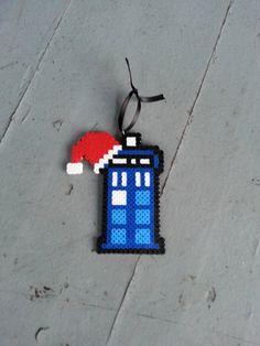 Tardis Christmas Ornament by BurritoPrincess on Etsy https://www.etsy.com/listing/206797557/tardis-christmas-ornament