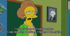 Imagen de quotes, simpsons, and life Simpsons Frases, Simpsons Meme, Simpsons Quotes, The Simpsons, Love Hurts, Life Moments, Lisa Simpson, Funny Pictures, Anime