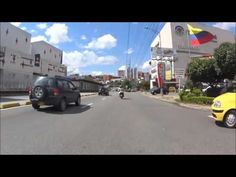 Motociclista imprudente en Bucaramanga - reckless motorcycle riding