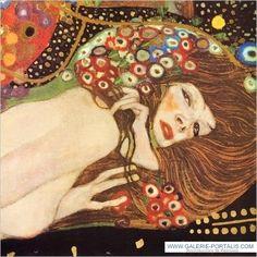 Eau mouvante by Klimt.