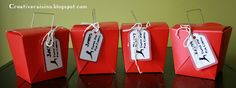Karate Party Favor Boxes