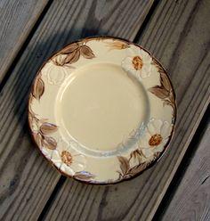 vintage franciscan ware four cafe royal dessert-salad-sandwich plates